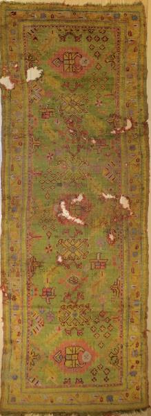 R5992 Antique Ushak Carpet Runner
