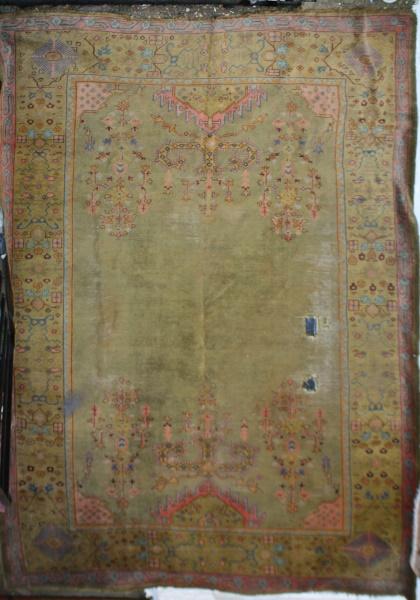 R4898 Antique Ushak Rug