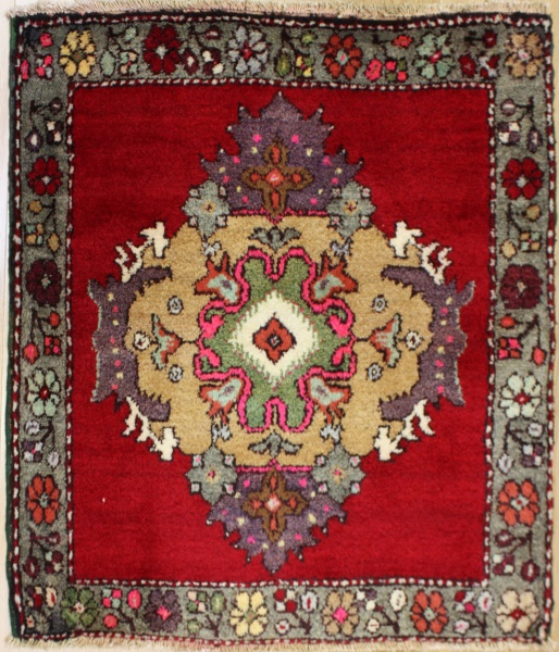 Antique Vintage Turkish Rugs R7943