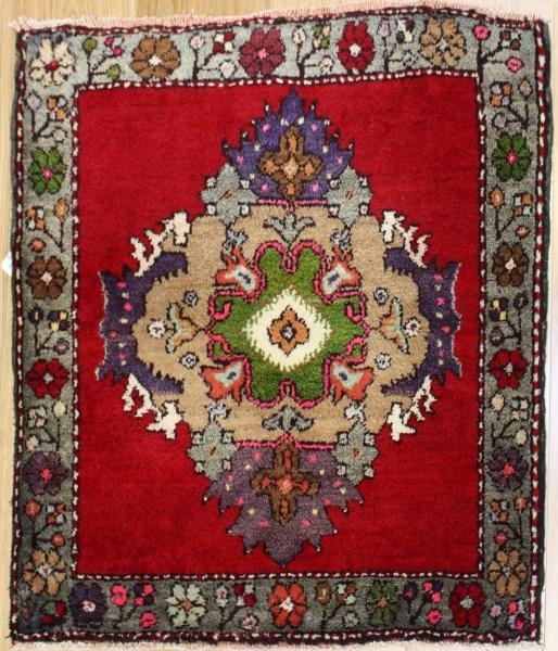 Antique Vintage Turkish Rugs R7944