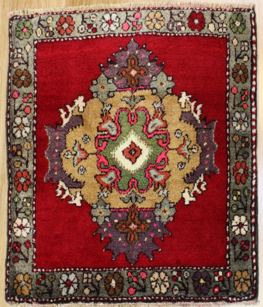Antique Vintage Turkish Rugs R7947