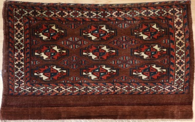 F1638 Antique Yomud Rug