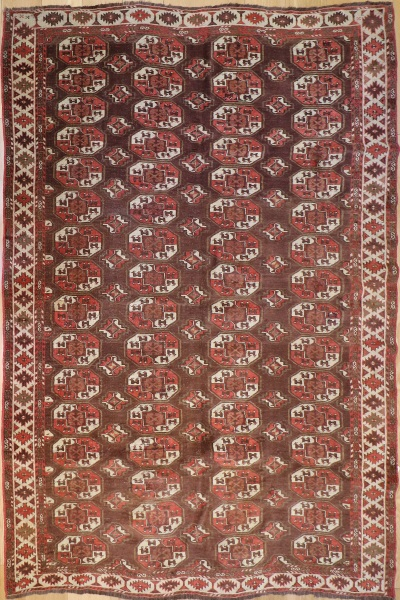 R1150 Antique Yomut Carpet