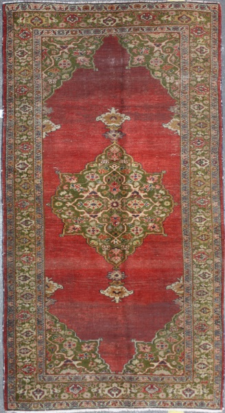 R3837 Antique Ziegler Rug