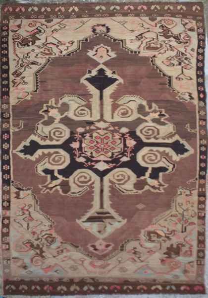 R1916 Beautiful Vintage Karabakh Kilim Rugs