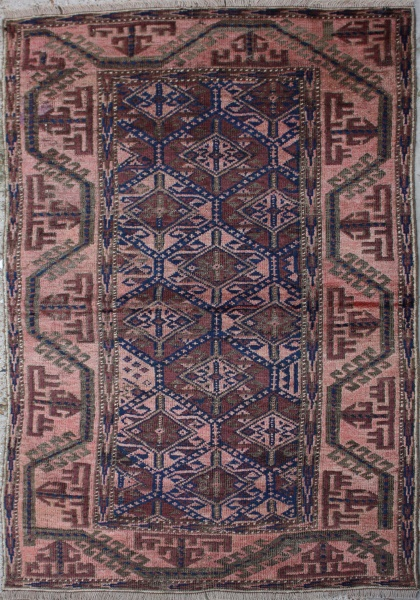 F719 Antique Persian Baluch Rug
