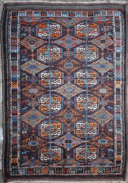 R3854 Antique Persian Balouch Rugs