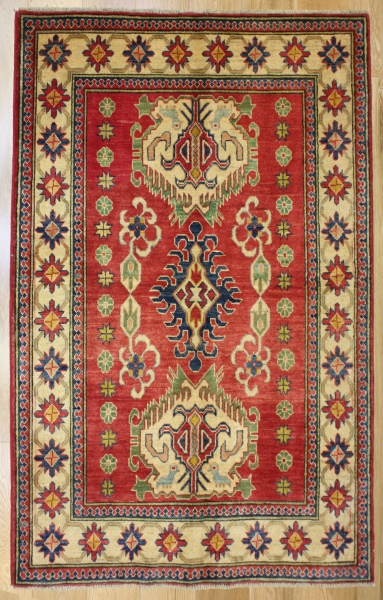 R8270 Beautiful Afghan Kazak Carpets