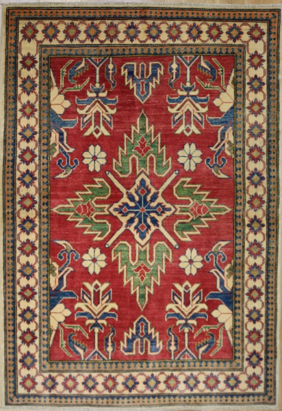 R8850 Beautiful Afghan Kazak Carpets