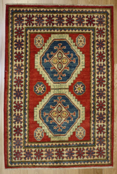 R8275 Beautiful Afghan Kazak Rugs