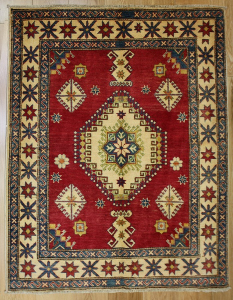 R8276 Beautiful Afghan Kazak Rugs