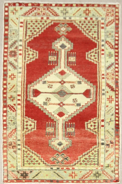 R7649 Beautiful Anatolian Guney Rug