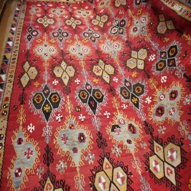 R8166 Beautiful Antique Large Turkish Kilim Rugs