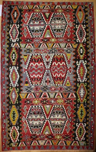 Beautiful Antique Turkish Kilim Rug R8000