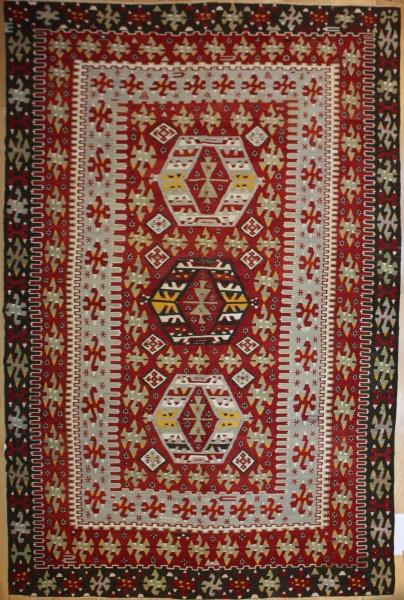 Beautiful Antique Turkish Kilim Rug R8029