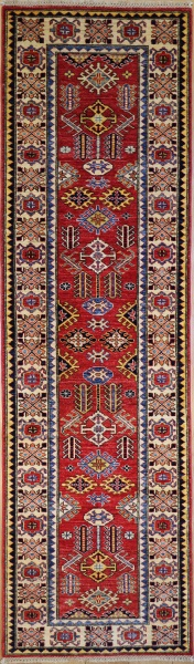 R8111 Beautiful Caucasian Kazak Carpet Runner