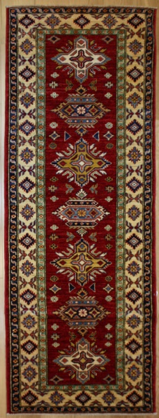 Beautiful Caucasian Kazak Carpet Runner R7681