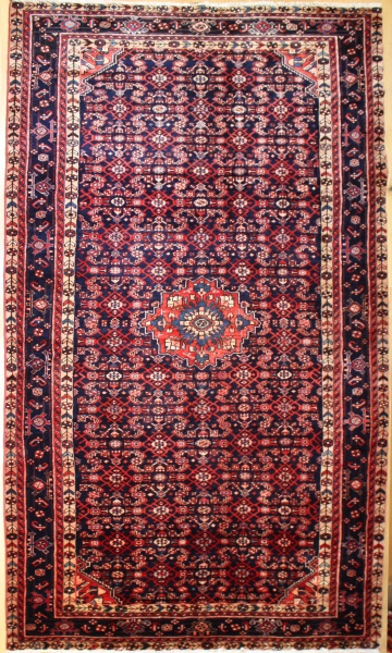 R8096 Vintage Persian Malayer Carpet