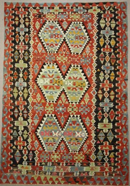 R7672 Beautiful Decorative Turkish Kilim Rug