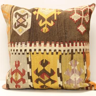 L413 Beautiful Hand Woven Afghan Kilim Cushion Cover