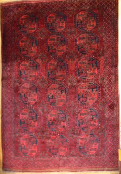 Beautiful hand woven Turkmenistan Ersari Carpet R7801