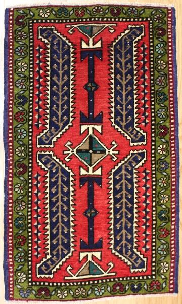 Beautiful Hand Woven Vintage Anatolian Rugs R7196