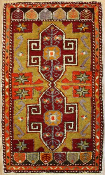 Beautiful Hand Woven Vintage Anatolian Rugs R7205