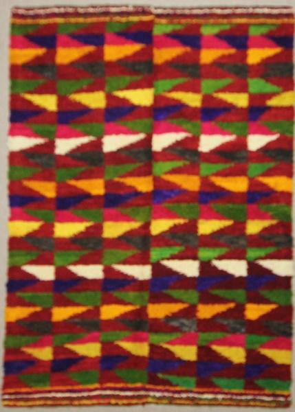 Beautiful Hand Woven Vintage Anatolian Tulu Rug R7905