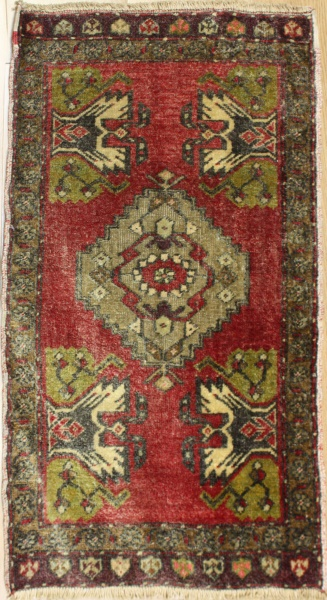 Beautiful Hand Woven Vintage Turkish Rugs R7911