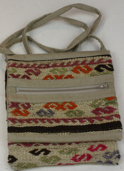 Beautiful Handmade Anatolian Kilim Handbag H50