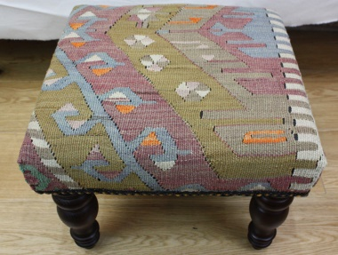 R5375 Beautiful Kilim Footstool