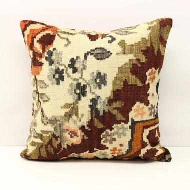 L524 Beautiful Large Hand Woven Kilim Cushion Cover