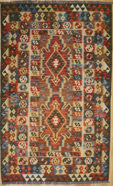 R8870 Beautiful New Afghan Kilim Rugs