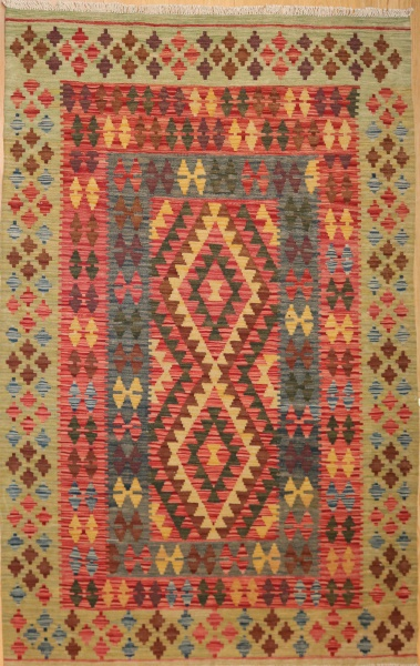 R8871 Beautiful New Afghan Kilim Rugs