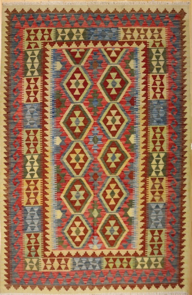 R8875 Beautiful New Afghan Kilim Rugs