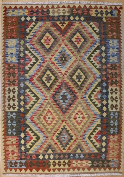 R9106 Beautiful New Afghan Kilim Rugs