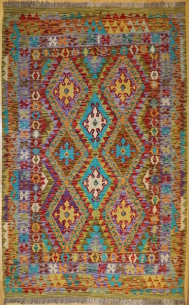 R9281 Beautiful New Afghan Kilim Rugs