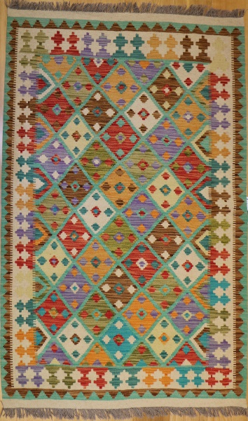 R9292 Beautiful New Afghan Kilim Rugs