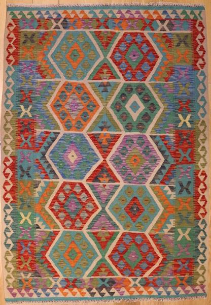 R9298 Beautiful New Afghan Kilim Rugs