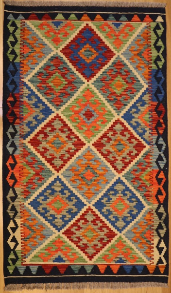 R8857 Beautiful New Afghan Kilim Rugs