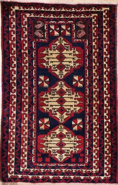 Beautiful Persian Baluch Rug R7990
