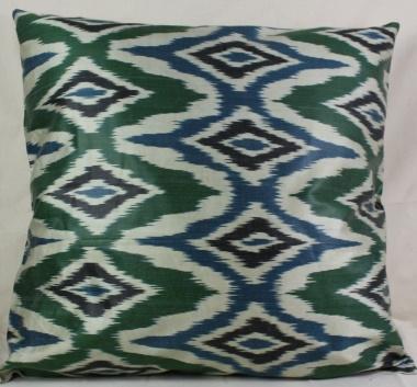 i87 Beautiful Silk Ikat Cushion Covers