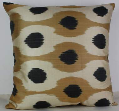 i6 Beautiful Silk Ikat Cushion Covers