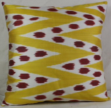 i8 Beautiful Silk Ikat Cushion Covers