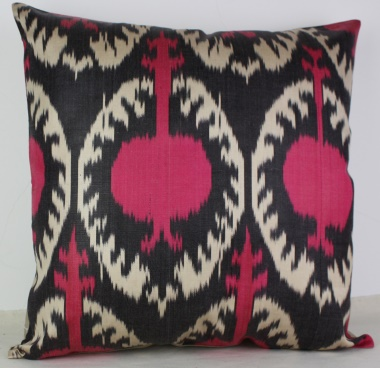 i16 Beautiful Silk Ikat Cushion Covers