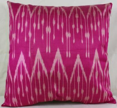 i15 Beautiful Silk Ikat Cushion Pillow Covers