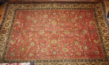 Beautiful Traditional Persian Tabriz Carpet R4977