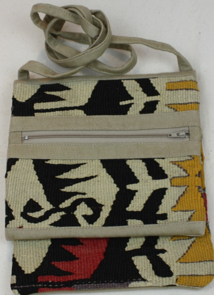 Beautiful Turkish Anatolian Kilim Handbag H103