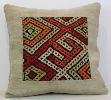 Beautiful Turkish Kilim Pillow Cover M1311