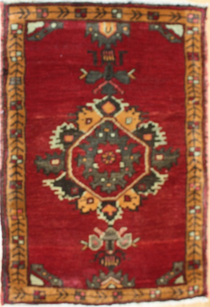 Beautiful Vintage Small Turkish Rugs R7936
